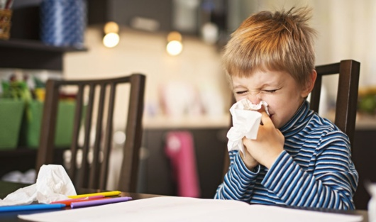 Top 10 Things to do With Children Stuck When They are Inside With a Cold
